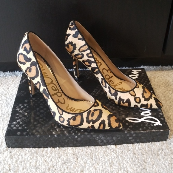 sam edelman hazel leopard heels